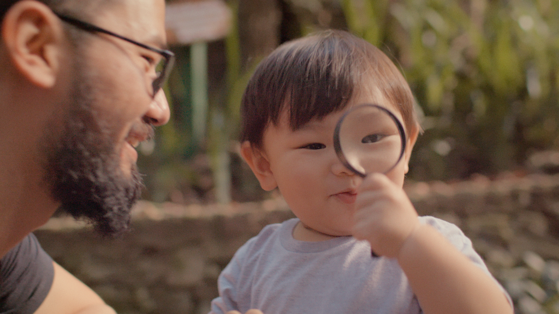Still image from The Beginning of Life 2 – Outside movie that explores how children experience the natural world